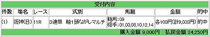 2008.03.09阪神11R万馬券