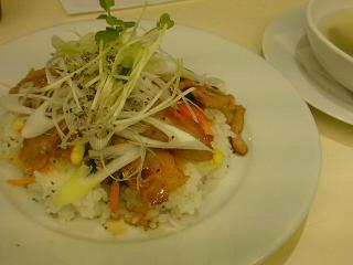 ハモニカキッチン・生姜焼きナムルご飯