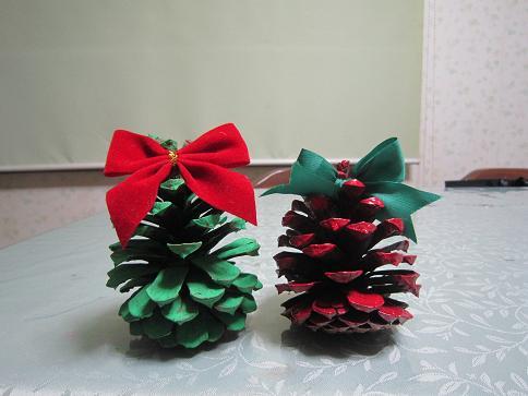 まつぼっクリスマスツリー