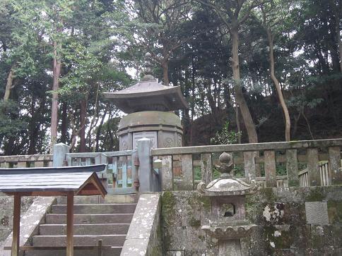 家康の墓2