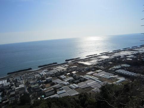 駿河湾と久能