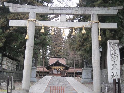 諏訪大社春の宮