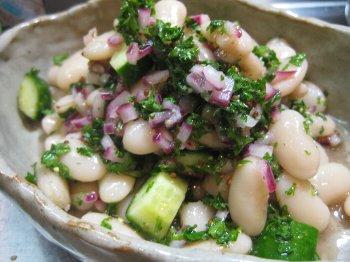 インゲン豆のサラダ