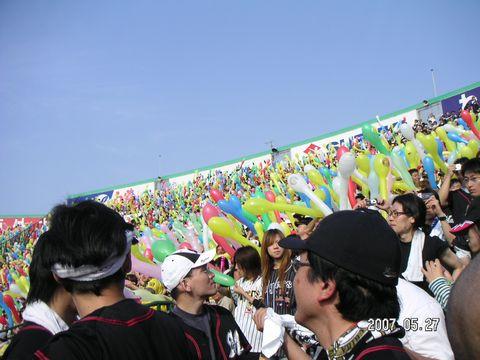 甲子園の風船