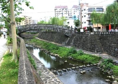 中島川の橋