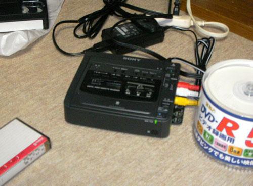 8mmビデオレコーダー