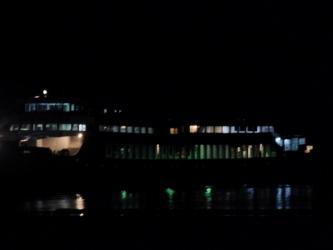 ⑱船(夜)