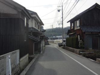 ⑮旧山陽道・藤井(街並み)