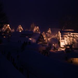 雪の五箇山