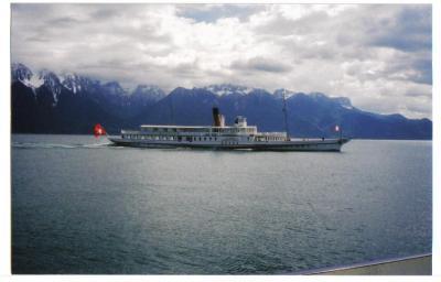 レマン湖船1