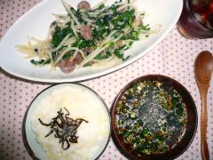 2007・09・16夕食 (2)