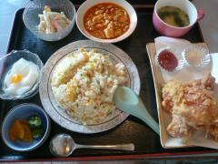宝天 から揚げ定食 2007・09・17