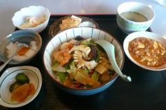 宝天 八宝菜定食 2007・09・17