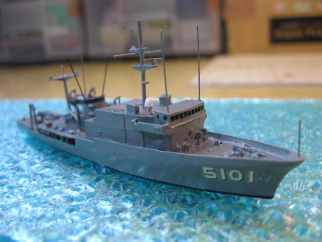 海洋観測艦あかしAGS5101の5