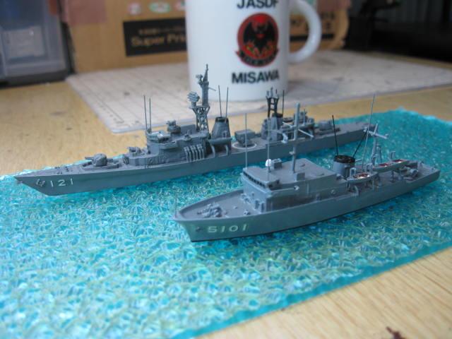 海洋観測艦あかしAGS5101の8