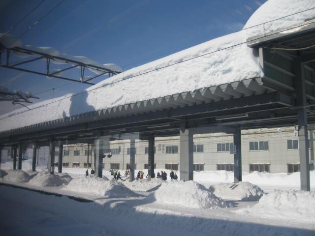 20120117岩見沢駅の1
