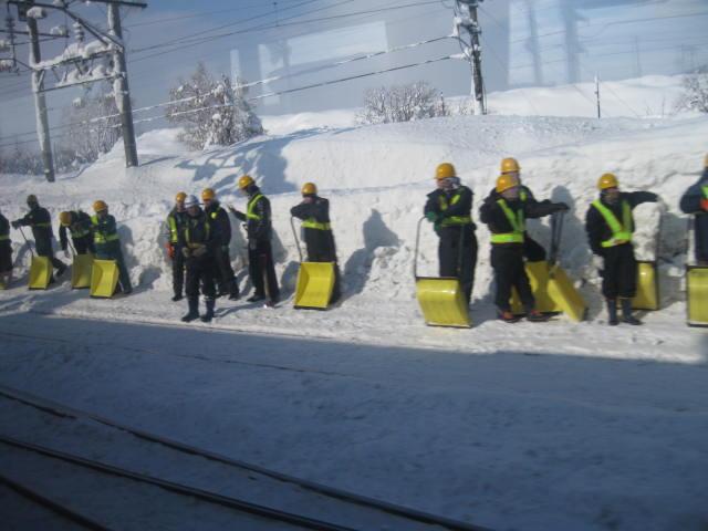 20120117岩見沢駅の2