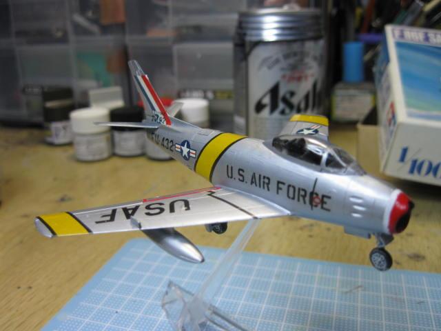 F-86F SABRE の4