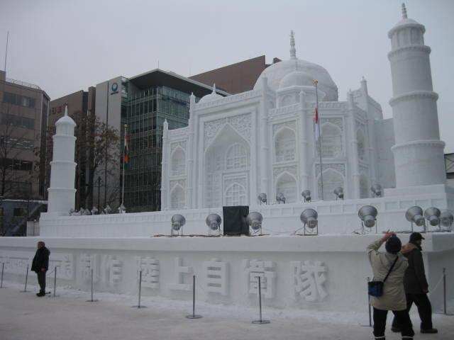 札幌雪祭り2012の1