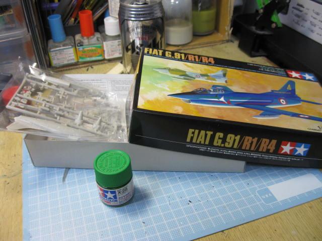 FIAT G.91 no1