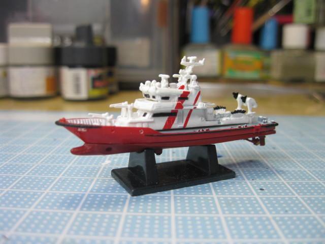 多機能型消防艇・・・食玩