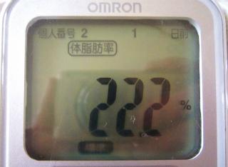 2011/6/20 体脂肪