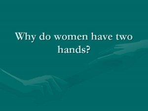 whywomen