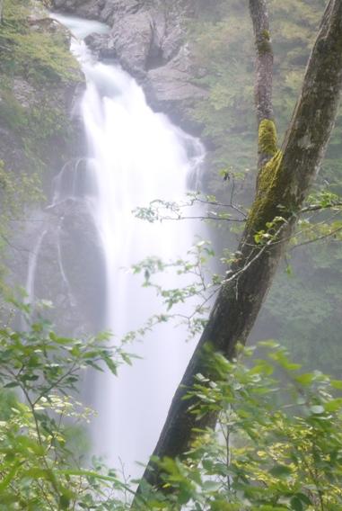 秋保大滝 低速シャッター撮影