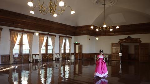 函館区公会堂 2階