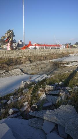 東日本大震災のがれき
