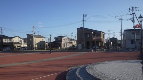 塩釜駅前の町並み
