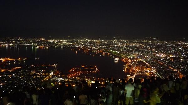 函館山の夜景その②