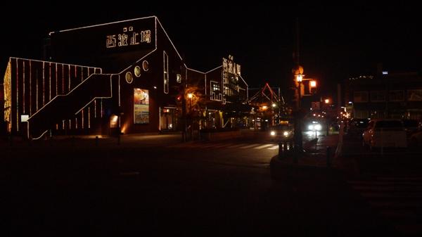 函館赤レンガ倉庫の明かり