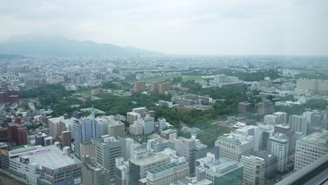 札幌 JRタワーからの景色