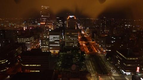 札幌タワーからの夜景②