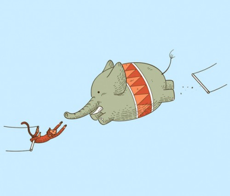 ゾウさんジャンプ