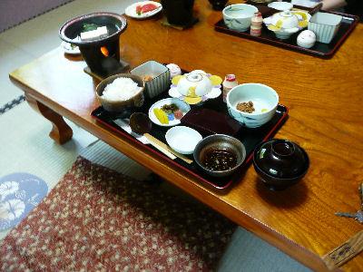 吾妻屋さんの朝食