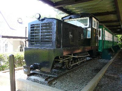 沼尻鉄道のDC121と客車