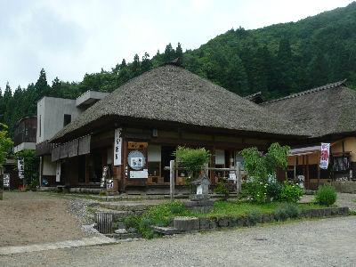大内宿のお蕎麦屋さん 石原屋