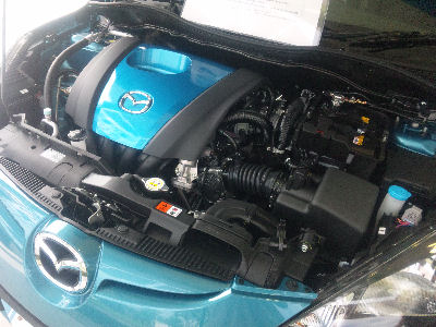 1st SKYACTIVE-G L4 1.3 CE エンジン