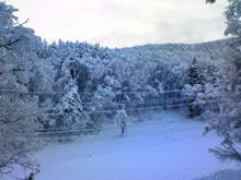 110103早朝雪景色①