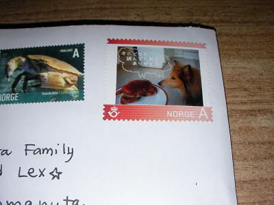 冬どな切手