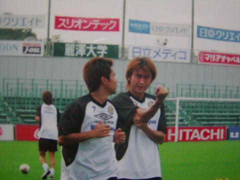 北嶋選手 (02年 日立台)