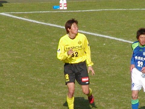 VS湘南戦 岡山選手