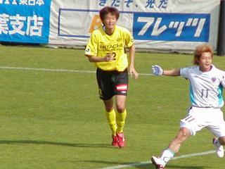 レイソル好調の第1人者 岡山選手