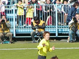 決勝ゴールを演出 谷澤選手