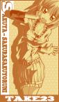 サクラ咲く名刺ケース完成版