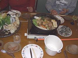 鴨鍋&牡蠣食べ放題~♪
