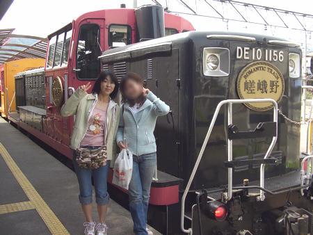 トロッコ列車♪