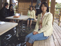 嵯峨野の足湯